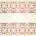 Floral Border. Abstract Flower Background. Stock Photography - 33292352