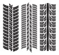 Various Tyre Treads Stock Image - 33296661