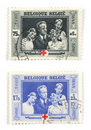 Belgian Stamps Stock Photography - 3333412