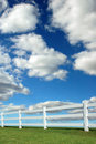 Lanscape With Fence Royalty Free Stock Images - 3336619
