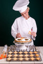Final Chef Touches Royalty Free Stock Photos - 3336848