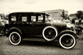 Vintage Car Ford Model A (sepia) Stock Photo - 33300380