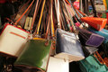 Colourful Handbags For Sale Royalty Free Stock Photography - 33302887