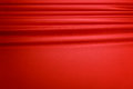 Red Silk Curtain Background Royalty Free Stock Image - 33305916