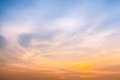 Sky In Twilight Time Stock Images - 33306824