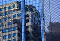 Reflections Of City Buildings Royalty Free Stock Photo - 33318345