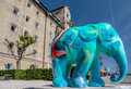 Colourful Elephant In Copenhagen Stock Images - 33335284
