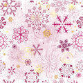 Christmas Pink Seamless Pattern Royalty Free Stock Photos - 33342398
