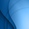 Blue  Smooth Twist Light Lines Background. Stock Images - 33349104