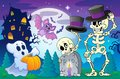 Halloween Topic Scene 5 Royalty Free Stock Images - 33360369
