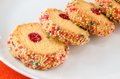 French Multi-colored Biscuits. Stock Photo - 33360610