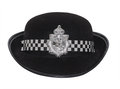 Women Police Hat Royalty Free Stock Photography - 33361007