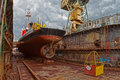 Dry Dock Royalty Free Stock Photography - 33365587