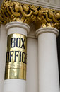 Theatre Box Office Sign Stock Images - 33393144