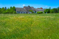 Old Abandoned Farmhouse In Field Royalty Free Stock Photo - 33393925