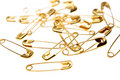 Safety Pins Royalty Free Stock Images - 3344779
