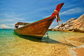 Longtail Boat Stock Photo - 3346370