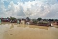 Flooded India Stock Photography - 33407422