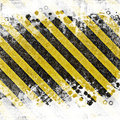 Grunge Abstract Background For Caution Or Under Construction Illustrations Royalty Free Stock Images - 33418389