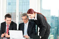 Business People - Team Meeting In An Office Royalty Free Stock Photo - 33420955