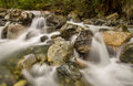 Mini Waterfalls Over Rocks Royalty Free Stock Images - 33426429