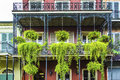 Old New Orleans Houses In French Royalty Free Stock Photography - 33442437