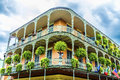 Old New Orleans Houses In French Stock Photography - 33442812