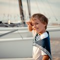 Portrait Of Young Sailor Near Yacht Royalty Free Stock Photos - 33453038