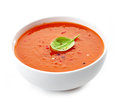 Bowl Of Tomato Soup Royalty Free Stock Photography - 33463347