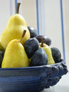 Plums And Pears Royalty Free Stock Photography - 33464267