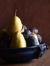 Plums And Pears Stock Photography - 33464372