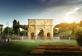 Arch Of Constantine Royalty Free Stock Image - 33465116