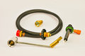 Gas Hose And Adapter Stock Photos - 33480153