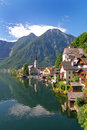 Austrian Lakeside Village Of Hallstatt Royalty Free Stock Images - 33481199