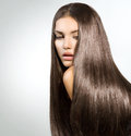 Long Healthy Straight Hair Stock Images - 33487954