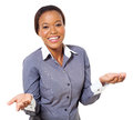Pretty African Businesswoman Stock Photo - 33490390