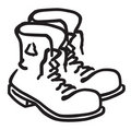 Work Boots Stock Photography - 3350422