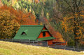 Cottage In Autumn Royalty Free Stock Image - 3350626