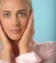 Woman S Face Royalty Free Stock Photo - 3358135