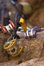 Colourful Climbing Gear Royalty Free Stock Images - 3359019
