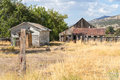 Old Outbuildings In Rural Northern California Royalty Free Stock Photos - 33510948