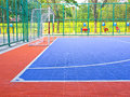 Another View Field For Futsal Royalty Free Stock Photo - 33511135