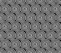 Seamless Pattern With Spiral Elements. Stock Images - 33519984