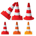 Safety Traffic Cones Royalty Free Stock Photography - 33530667