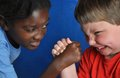 Boys Arm-wrestling Royalty Free Stock Photo - 33540185