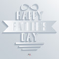 Background Abstract 3D Design Vector Illustrations Happy Father Day Stock Images - 33566074