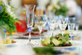 Table Set For An Event Party Stock Photos - 33576003
