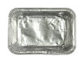 Foil Tray Stock Image - 33591311