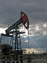Oil Sunset Stock Photography - 3363072