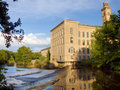 Salts Mill Stock Photography - 3364422